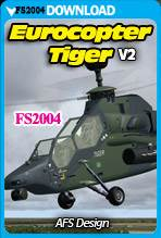 Eurocopter Tiger v2 (FS2004)