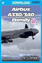 Airbus A330/340 Family X v2 (FS2004)