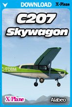 Alabeo C207 Skywagon (X-Plane 11)