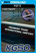 Piedmont Triad International Airport (KGSO) MSFS