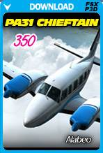 Alabeo PA31 Chieftain 350 FSX/P3D