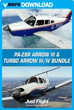 PA-28R Arrow III & Turbo Arrow III/IV Bundle (MSFS)