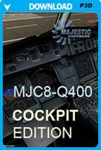 Majestic Software MJC8-Q400 COCKPIT Edition (P3D)