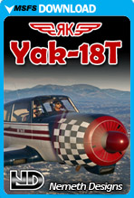 Yakovlev Yak-18T (MSFS)