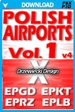 Polish Airports Vol 1 X for FSX/P3D