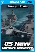 Carriers Extended: US Navy (P3D)