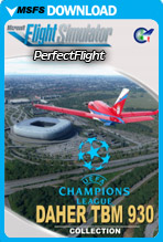 Daher TBM 930 Uefa Champions League Collection (MSFS)