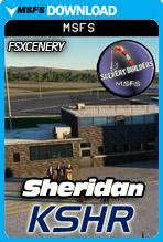 Sheridan County Airport (KSHR) MSFS