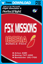 FSX Missions – IBERIA Bundle Pack Version