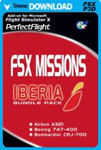 FSX Missions – IBERIA Bundle Pack Version