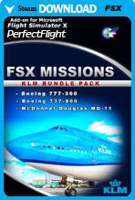 FSX Missions - KLM Bundle Pack (FSX)
