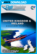 United Kingdom & Ireland Discovery Flights (MSFS)