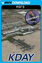 James M Cox Dayton International Airport (KDAY) MSFS