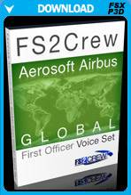 FS2Crew: Aerosoft Airbus Series Global First Officer Voice Set