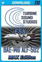 BAE-146 ALF-502 MAX Edition Sound Package