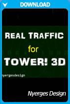 Real Traffic for Tower!3D