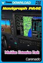 Carenado Navigraph PA46 Meridian Extension Pack (FSX/P3D)