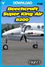 Beechcraft Super King Air B200 (P3D)