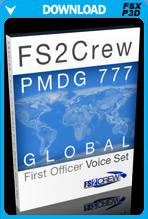 FS2Crew 777 Global First Officer Voice Pack