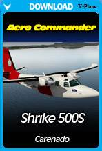 Carenado - 500S Shrike Aero Commander HD Series (X-PLANE)