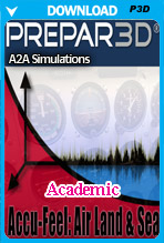 Accu-Feel v.2 Air, Land & Sea (P3Dv4-5 Academic)