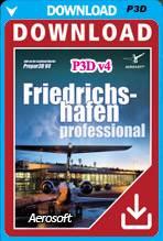 German Airports - Friedrichshafen Professional