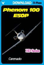 Carenado E50P Phenom 100 HD Series (X-Plane)
