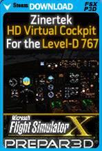 HD Virtual Cockpit for Level-D 767 (FSX/P3D)
