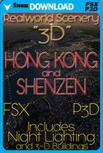 RealWorld Scenery - Hong Kong and Shenzen 3D 2017