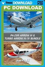 PA-28R Arrow III & Turbo Arrow III/IV Bundle (FSX/P3D)