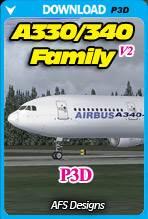 Airbus A330/340 Family X v2 (P3D)
