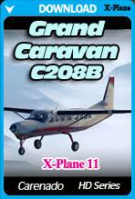 C208B GRAND CARAVAN HD SERIES (X-Plane 11)
