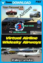 Your Personal Deluxe Virtual Airline - Widesky Airways