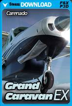 Carenado C208B Grand Caravan EX HD Series