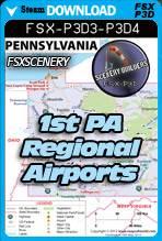 1st Pennsylvania Regional Airports Pack FSX-P3D