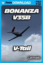 Carenado BONANZA V35B - V-TAIL (FSX/P3D)