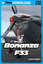 Carenado Beechcraft Bonanza F33 (FSX/P3D)