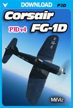 MilViz - FG-1D Corsair (P3D)