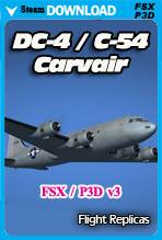 DC-4/C-54 Skymaster / Aviation Traders ATL98 Carvair (FSX/P3D)