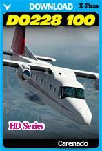 Carenado DO228 100 HD Series (X-Plane 11)