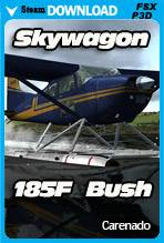 Carenado C185F SKYWAGON BUSH (FSX/P3D)