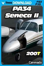 Carenado Piper PA34 200T Seneca II (FSX/P3D)
