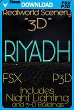 RealWorld Scenery - Riyadh 3D 2017