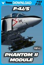 F-4J/S Phantom II Module - Advanced Series (FSX/P3D)
