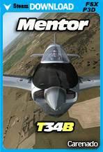 Carenado Beechcraft Mentor T34B (FSX/P3D)