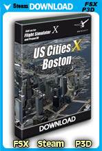 US Cities X - Boston (FSX/FSX:SE/P3D)