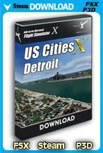 US Cities X - Detroit