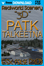 3D (PATK) Talkeetna, Alaska
