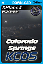 City of Colorado Springs Municipal Airport (KCOS) X-Plane 11