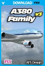 Airbus A380 - Family v3 (FSX)